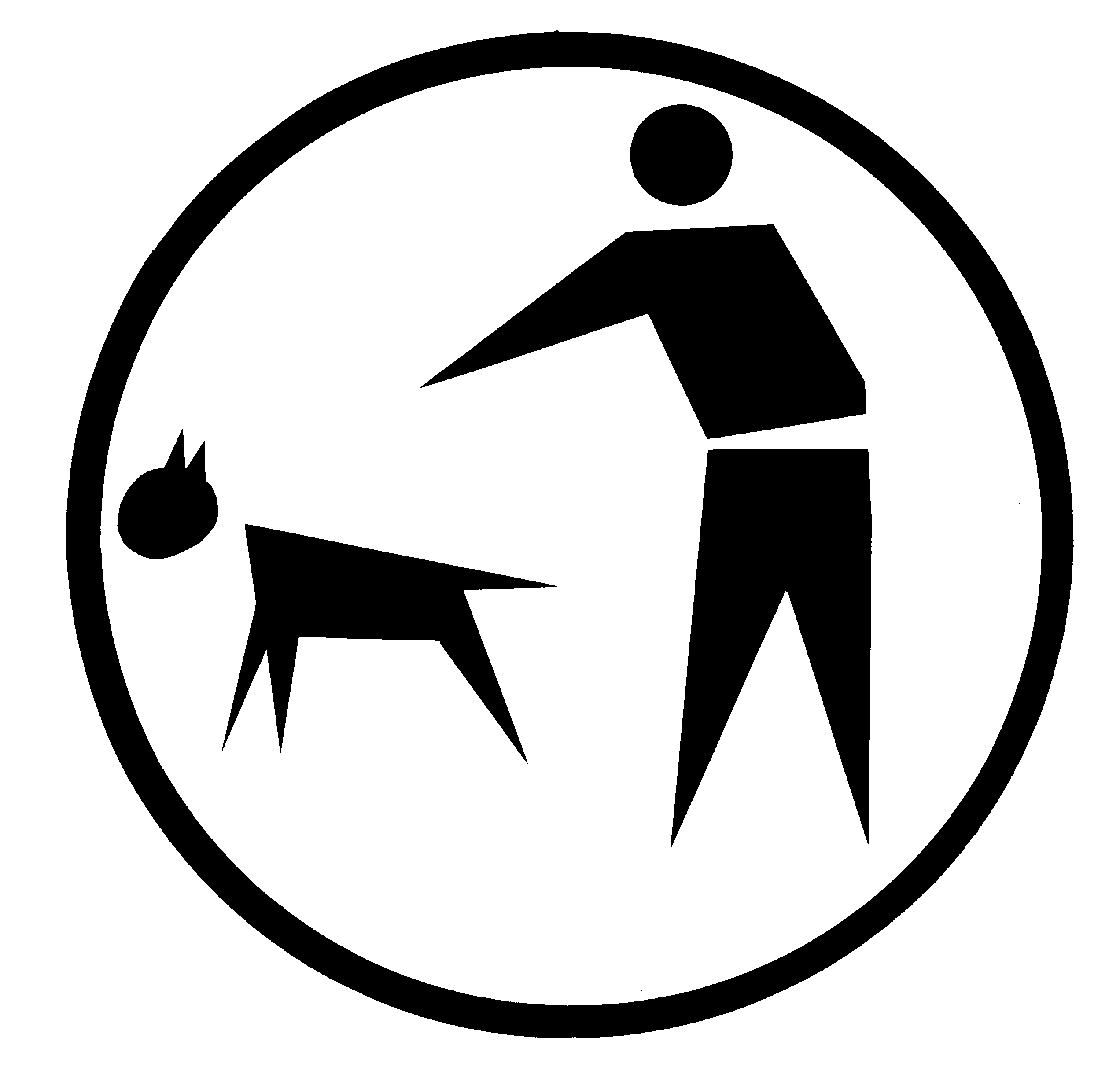 Sticker For Dog Latrine