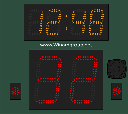 Shot and Play Clock (CLK-2000)