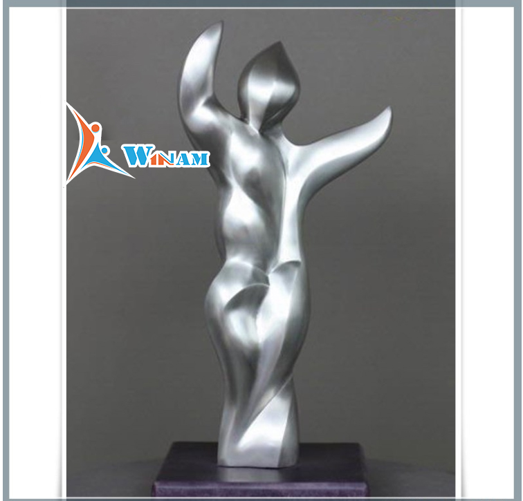Home Decor Stainless Steel Erotic Naked Sexy Woman