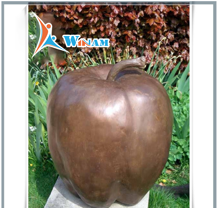 Modern Large Garden Arts Abstract Fiberglass Sculpture for Sale