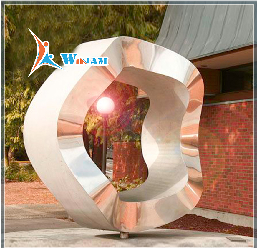Hot Sale Custom Stainless Steel Park Sculpture