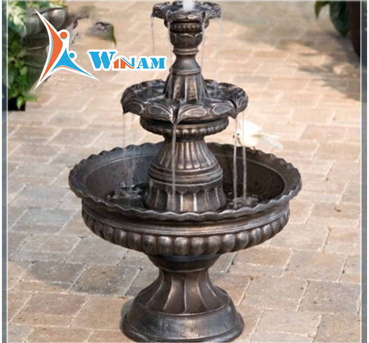 Outdoor and Garden decorative large bronze fountain