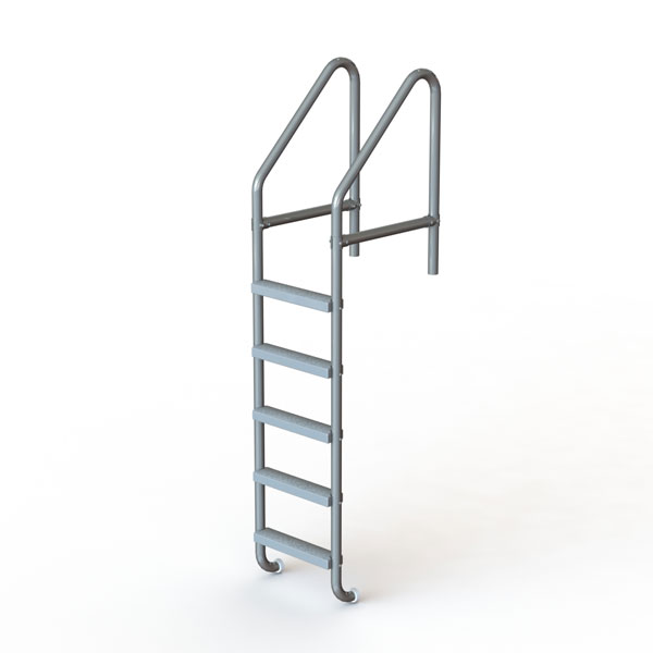 5-Step 36″ Heavy-Duty Swimming Pool and Spa Ladder