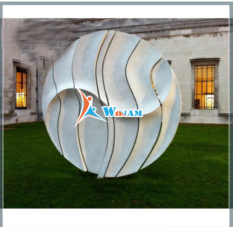Modern home decoration stainless steel wall art sculpture