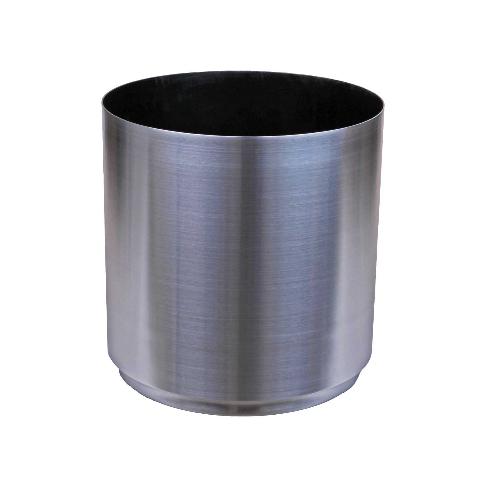 Large Round Metal Planter - Aluminum - 13'/16'/20'/24' Diameter - Cylinder by Oso Polar