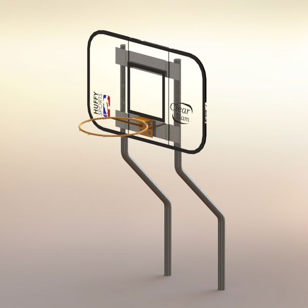 Basketball Hoop-Dual Post