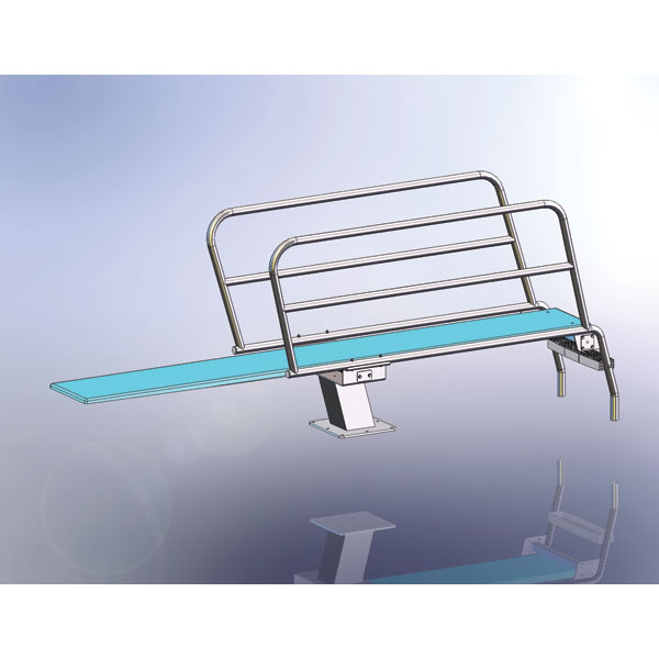 1/2, 3/4 One Meter Short Dive Stand – Rear Access