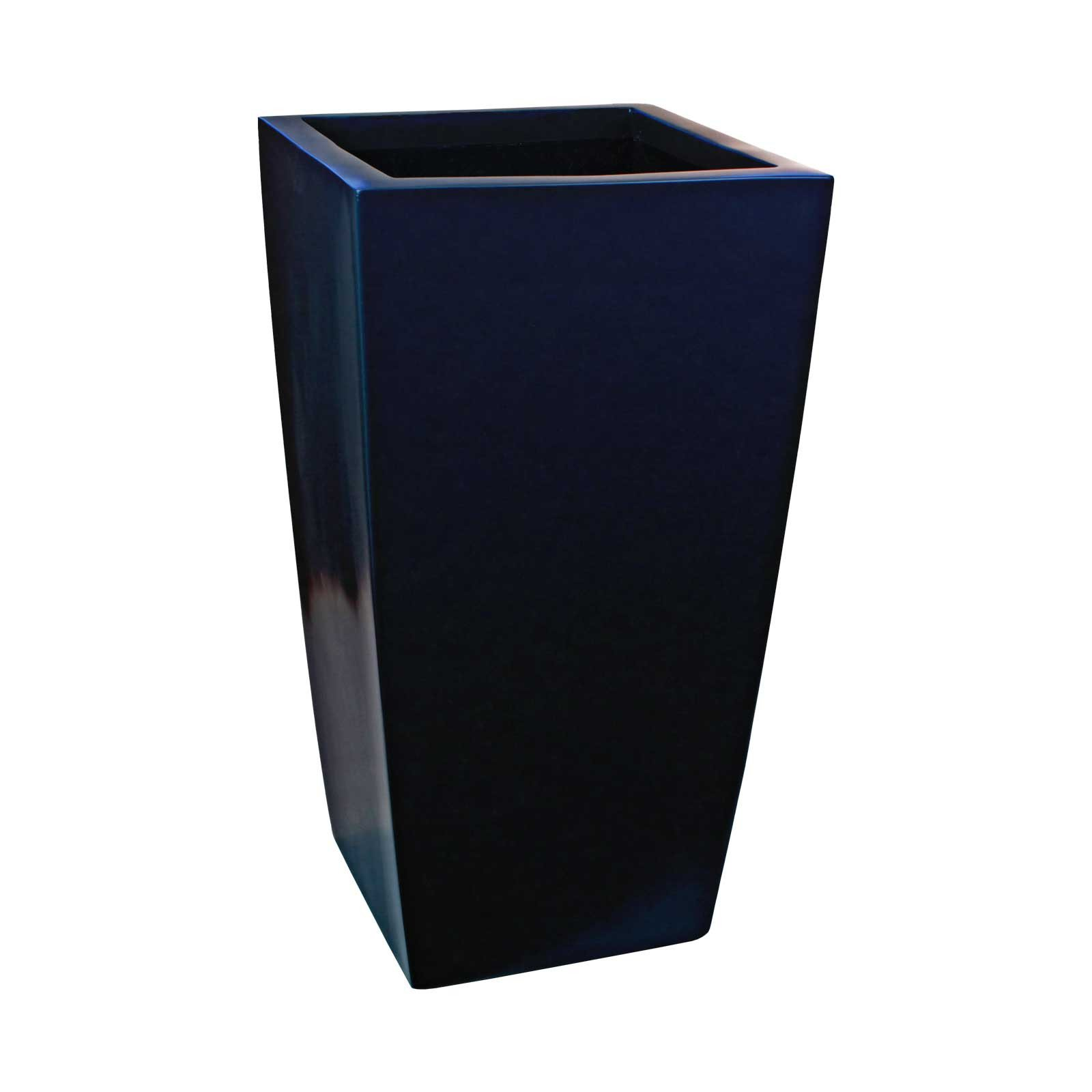 Large Tapered Square Planter - Fiberglass - 42'/48'/60' Tall - Toulan by Jay Scotts