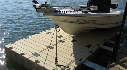 EZ BoatPort® BP4000 with Float Tank & Air-Assist