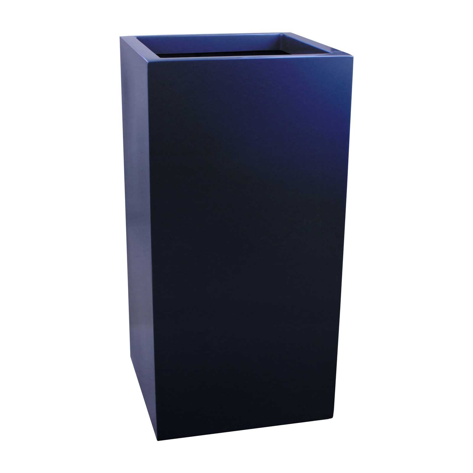 Tall Square Planter - Fiberglass - 24'/32'/42' Heights - Santiago by Jay Scotts