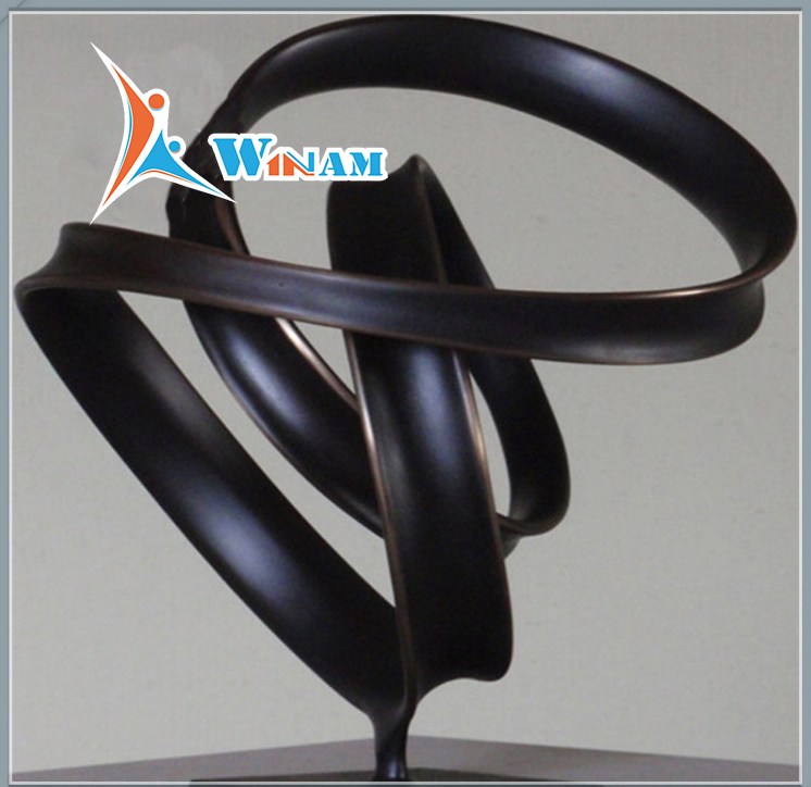 Modern home art decoration sculpture bronze