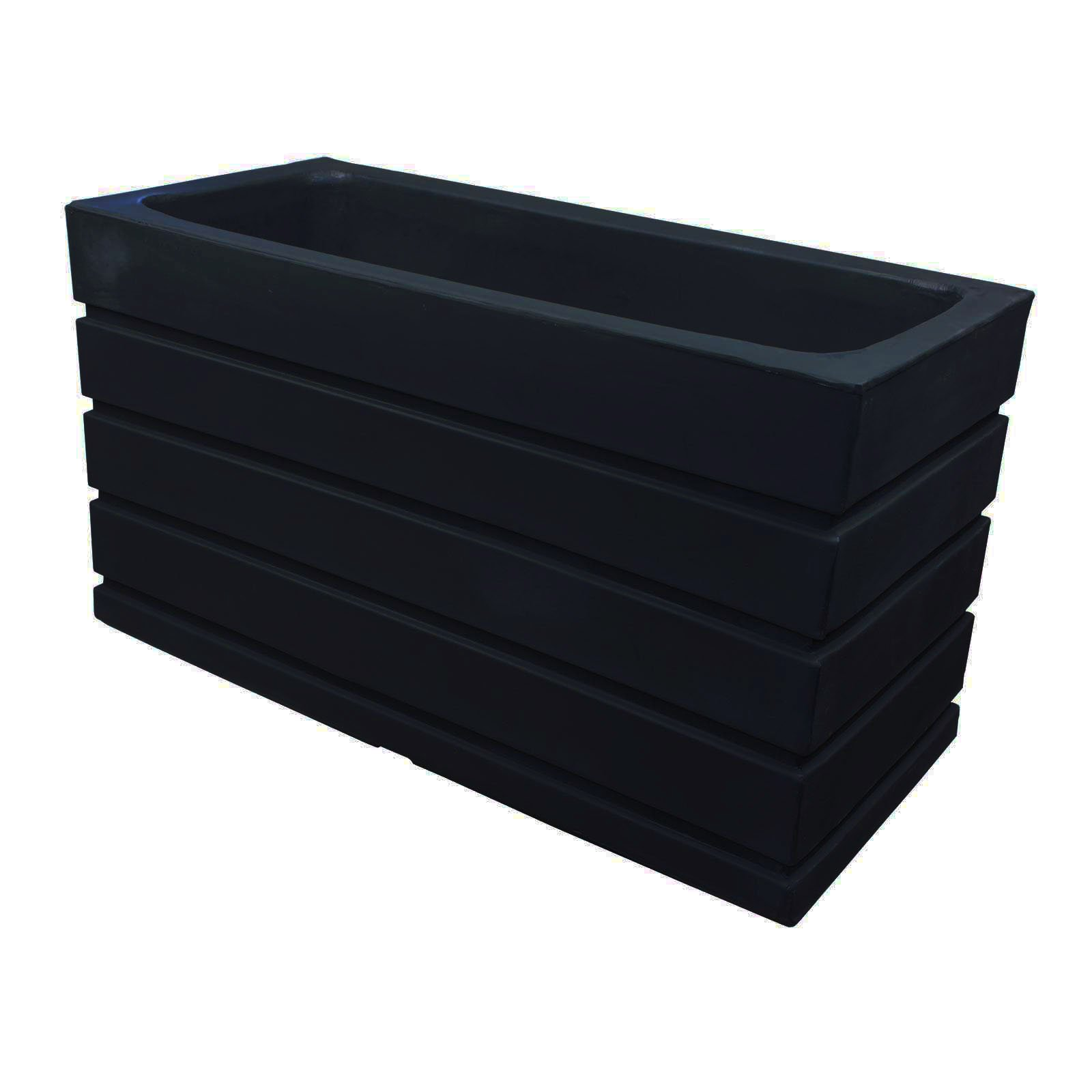 Large Plastic Planter Boxes - Ellis by Crescent Garden