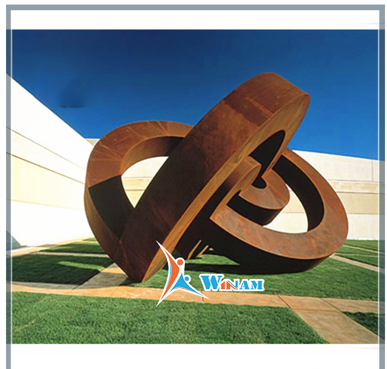 Large Outdoor Metal Garden Corten Steel Art Sculpture