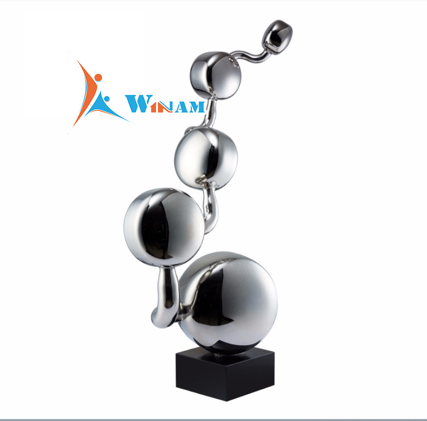 Wholesale Metal Garden Stainless Steel Statues Home Decor