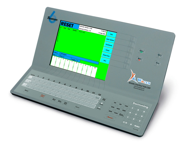 System 6 Timing Console – Water Polo