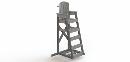 Mendota Lifeguard Chair 5′ – Recycled