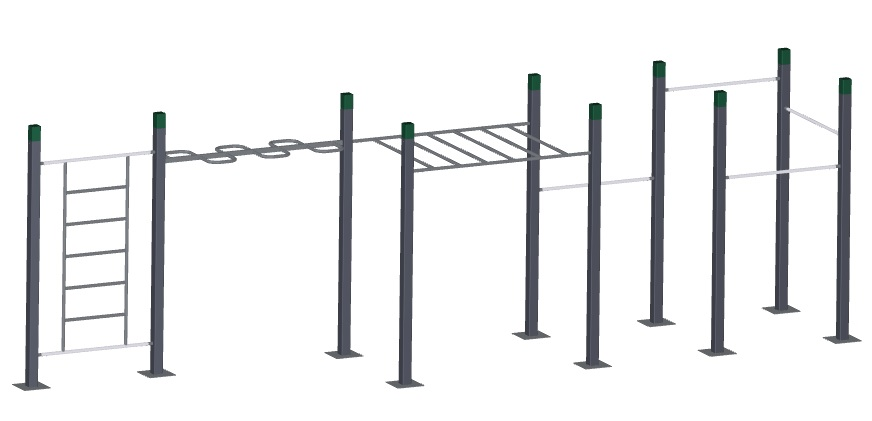 Wave Monkey Bars