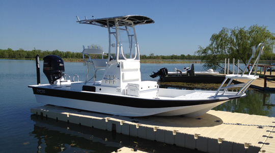 EZ BoatPort® BP5001 with Side Extensions, Float Tank & Air-Assist