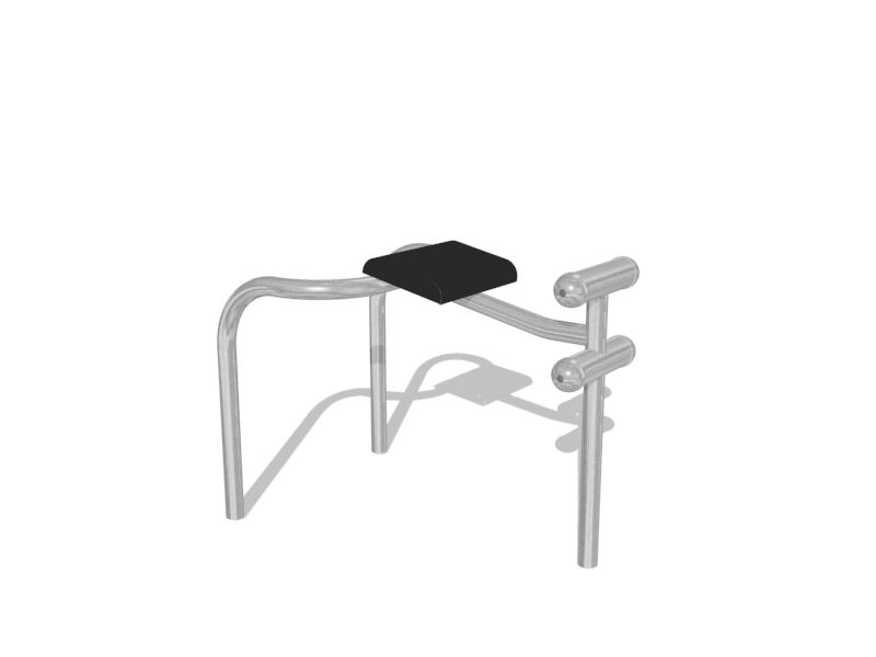 Inshape Hyperextension Bench